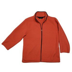 Black Diamond Tangerine Full Zip Ski Layer Jacket